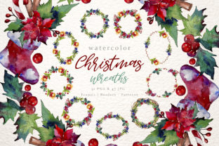 Print on Demand: Christmas Collection Watercolor Set Graphic Illustrations By MyStocks
