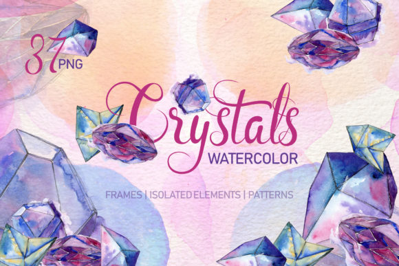 Print on Demand: Crystal Blue Dreams Come True Watercolor Graphic Illustrations By MyStocks