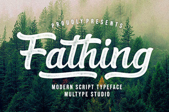 Fathing Font