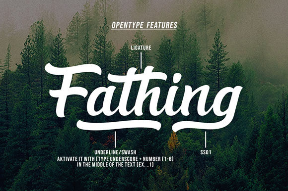 Fathing Font Download