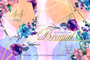Print on Demand: Flower Heaven Watercolor Graphic Illustrations By MyStocks