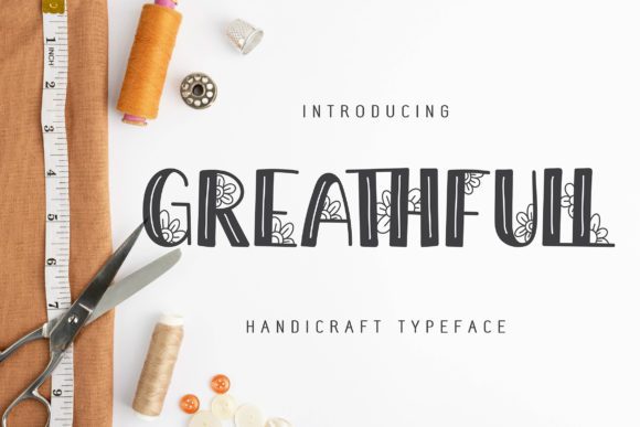 Print on Demand: Greathfull Script & Handwritten Font By Vunira