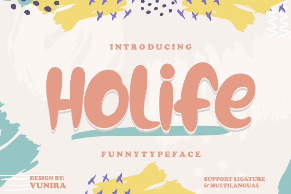 Print on Demand: Holife Decorative Font By Vunira