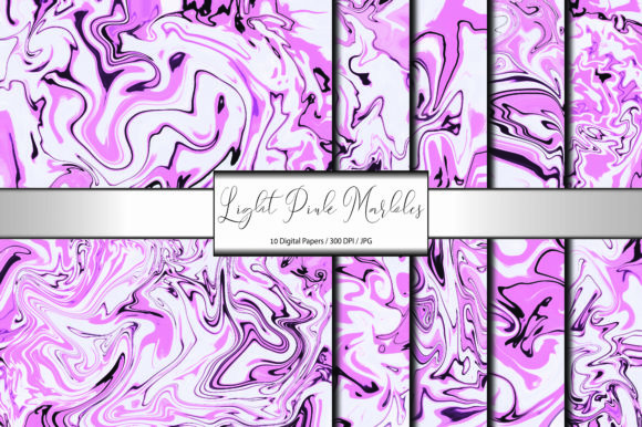 Pattern Background Light Pink Marble Graphic Backgrounds By porlawatsangyoo