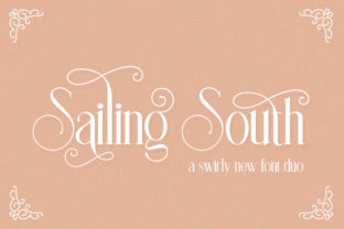Print on Demand: Sailing South Sans Serif Font By Salt & Pepper Designs