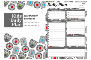 Print on Demand: Simple KDP with Silver Shield Theme Graphic Crafts By Arief Sapta Adjie