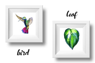 Print on Demand: Tropical Clipart Watercolor Graphic Illustrations By MyStocks 11