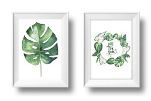 Print on Demand: Tropical Clipart Watercolor Graphic Illustrations By MyStocks 8