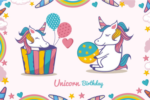 Print on Demand: Unicorn Amazing Character Graphic Illustrations By edywiyonopp