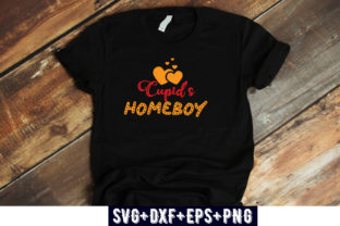 Print on Demand: VALENTINES DAY : Cupid's Homeboy Graphic Print Templates By Design_store