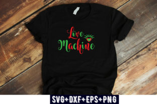 Print on Demand: VALENTINES DAY : Love Machine Graphic Print Templates By Design_store