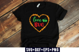 Print on Demand: VALENTINES DAY : Love Bug Graphic Print Templates By Design_store