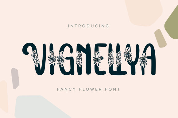 Print on Demand: Vignellya Script & Handwritten Font By Vunira