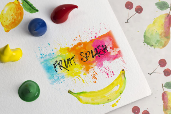 Watercolor Fruits Set Graphic Preview