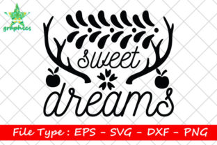 Print on Demand: Sweet Dreams Graphic Print Templates By Star_Graphics