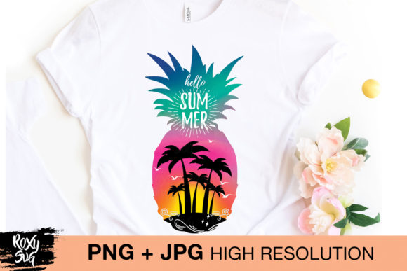 Print on Demand: Summer Sublimation   Graphic Crafts By roxysvg26