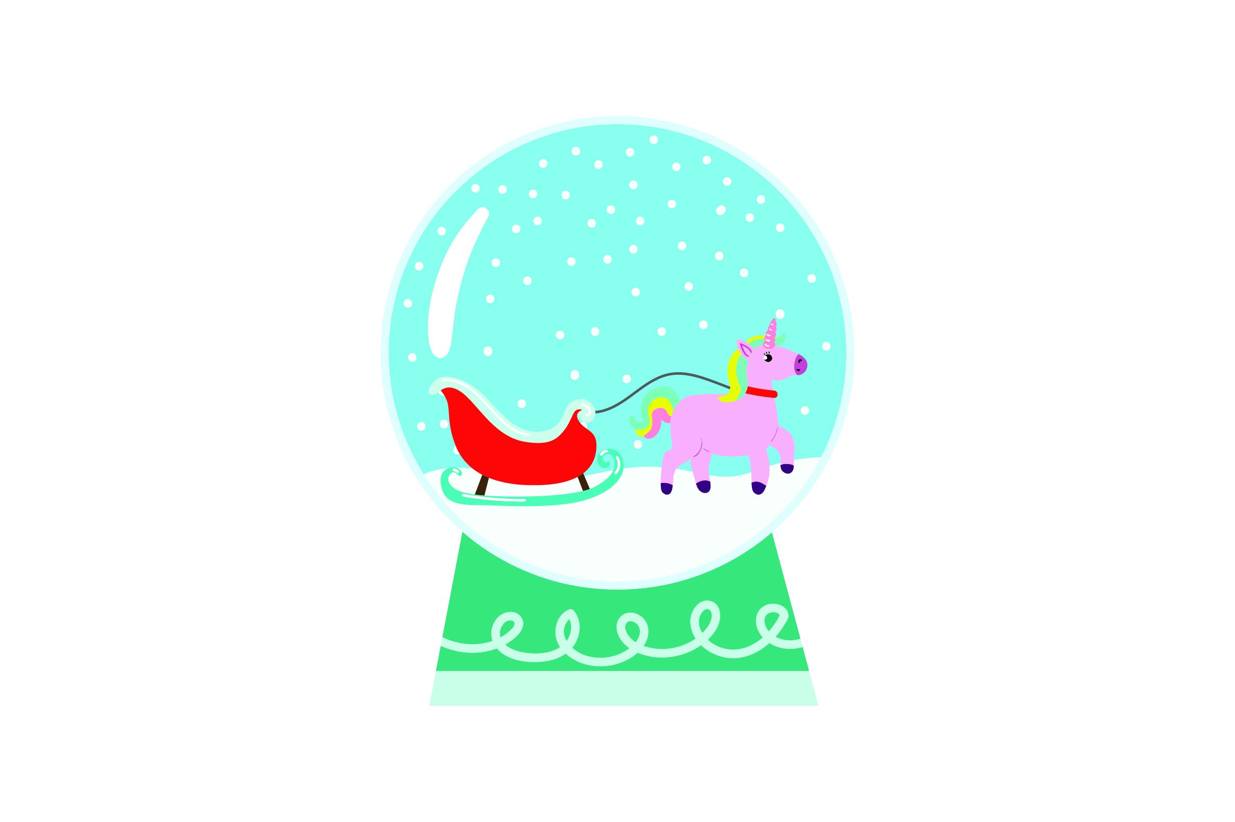 Christmas Unicorn Svg Free Svg Cut Files Create Your Diy Projects Using Your Cricut Explore Silhouette And More The Free Cut Files Include Svg Dxf Eps And Png Files