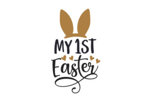 My 1st Easter Baby Craft Cut File By Creative Fabrica Crafts
