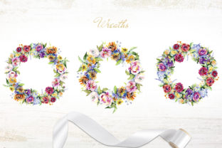 Print on Demand: Bouquet of Flowers Between Heaven Graphic Illustrations By MyStocks 4