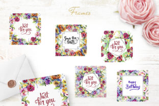 Print on Demand: Bouquet of Flowers Between Heaven Graphic Illustrations By MyStocks 5