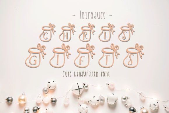 Print on Demand: Chris Gifts Decorative Font By ChunnapaStudio - Image 1