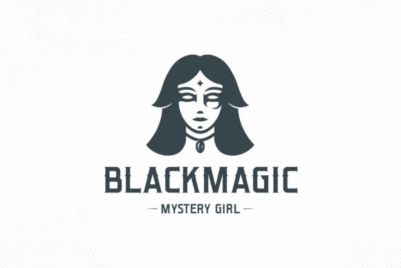 Dark Magician Woman Logo Template Graphic Logos By vectorwithin