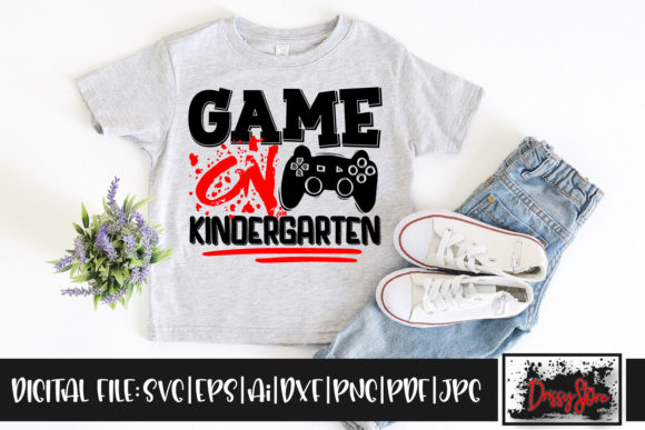 Game on Kindergarten Graphic Illustrations By DrissyStore