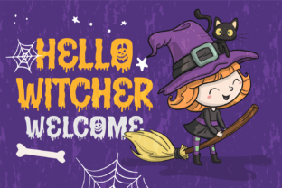 Print on Demand: Halloween Fright Display Font By brithostype 2