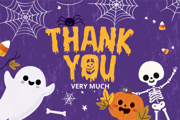 Print on Demand: Halloween Fright Display Font By brithostype - Image 6