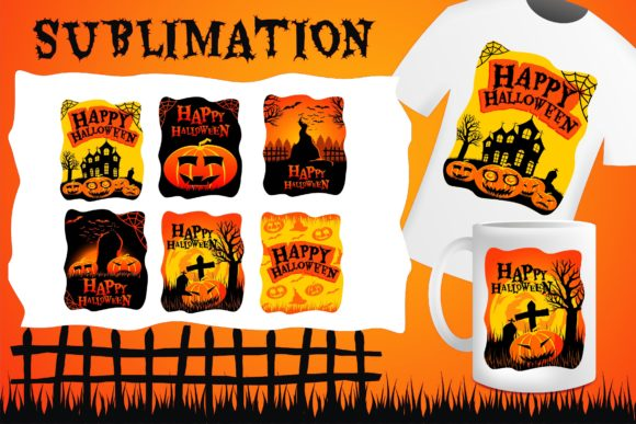 Print on Demand: Halloween Crafting Sublimation Graphic Illustrations By edywiyonopp