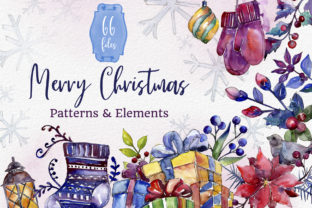Print on Demand: Set of Illustrations Christmas Miracle Watercolor Graphic Illustrations By MyStocks 1