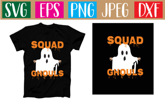 Print on Demand: Squad Ghouls Graphic Illustrations By Graphics Home.net