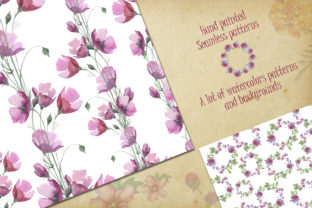 Print on Demand: Wildflower Watercolor Set Graphic Illustrations By MyStocks 2