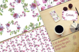 Print on Demand: Wildflower Watercolor Set Graphic Illustrations By MyStocks 3