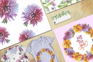Print on Demand: Wildflower Watercolor Set Graphic Illustrations By MyStocks 4