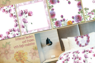 Print on Demand: Wildflower Watercolor Set Graphic Illustrations By MyStocks 5