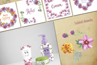 Print on Demand: Wildflower Watercolor Set Graphic Illustrations By MyStocks 6
