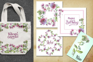 Print on Demand: Wildflower Watercolor Set Graphic Illustrations By MyStocks 7