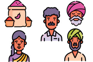 India Graphic Icons By ssiimpti73