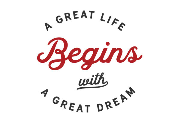 Print on Demand: A Great Life Begins Graphic Illustrations By baraeiji - Image 1