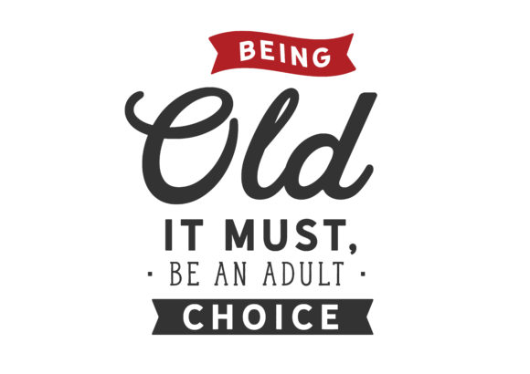 Print on Demand: Being Old It Must Graphic Illustrations By baraeiji - Image 1