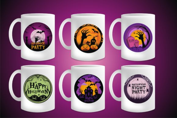 Halloween Sublimation Vector Graphic Download
