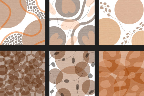 Minimal Background Digital Papers Graphic Backgrounds By PinkPearly - Image 3