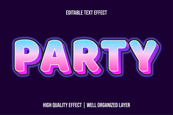 Print on Demand: Modern Text Effect Style for Illustrator Graphic Layer Styles By eddyinside