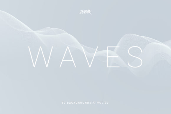 Waves | Network Lines Backgrounds | V 03 Graphic Backgrounds By dvtchk