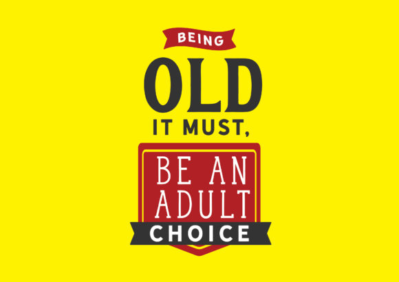 Print on Demand: Be an Adult Choice Graphic Illustrations By baraeiji - Image 1