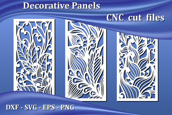 Decorative Panels, Cnc Laser Cut Files Graphic Crafts By AmarylleArt