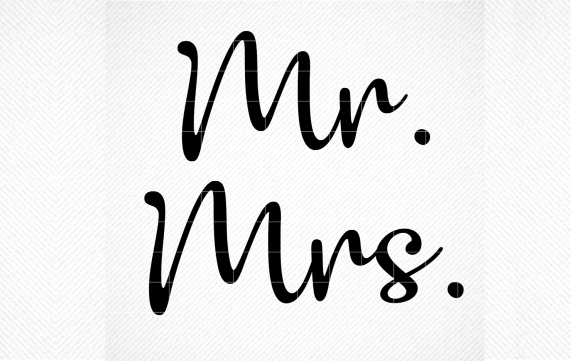 Mr Mrs Free Wedding Svg Files For Cricut Free Svg Cut Files Create Your Diy Projects Using Your Cricut Explore Silhouette And More The Free Cut Files Include Svg Dxf Eps