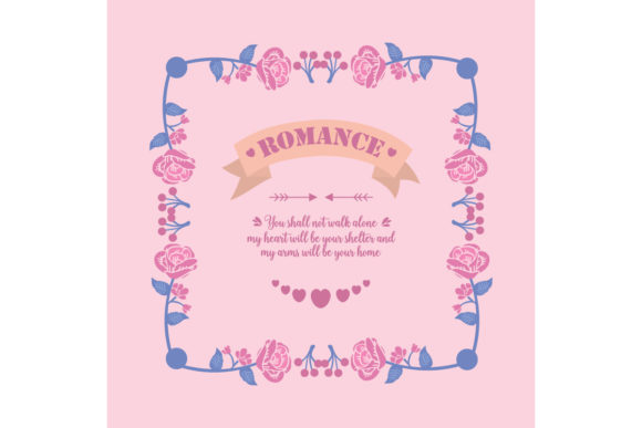 Simple Pattern of Romance Greeting Card Graphic Backgrounds By stockfloral