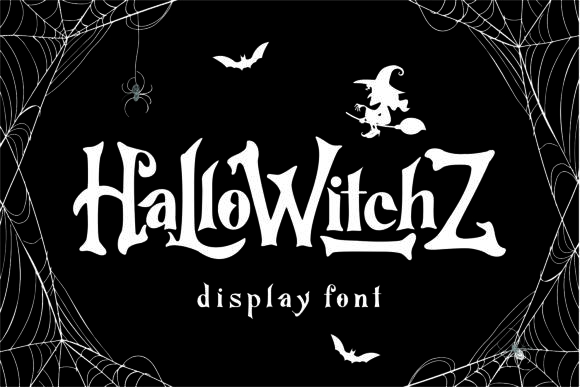 Print on Demand: HalloWitchZ Display Font By Mozarella